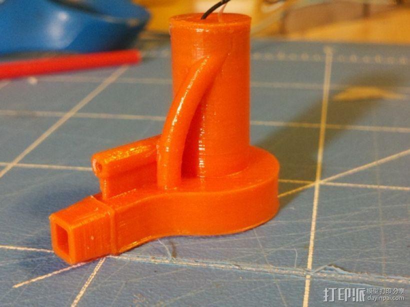 迷你离心抽机 3D模型  图1