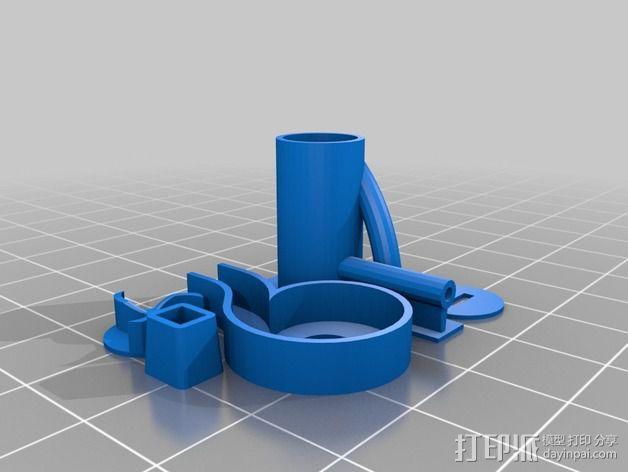 迷你离心抽机 3D模型  图2