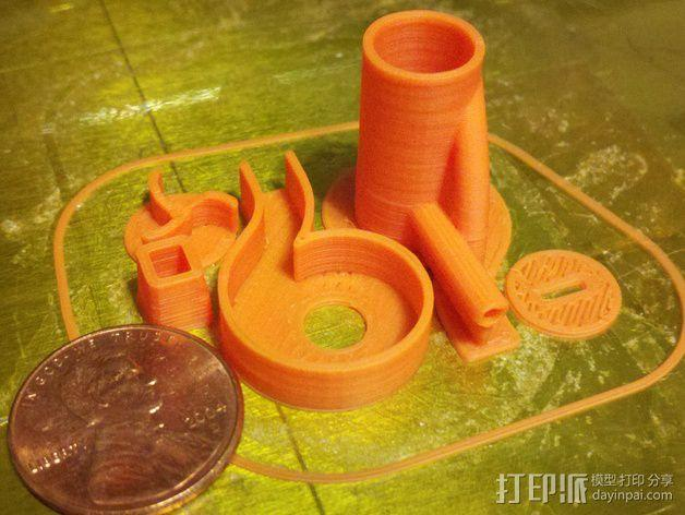 迷你离心抽机 3D模型  图3