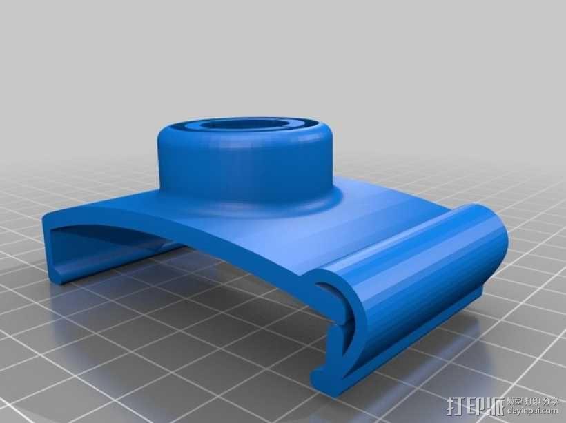 Garmin GPS模块支架 3D模型  图2