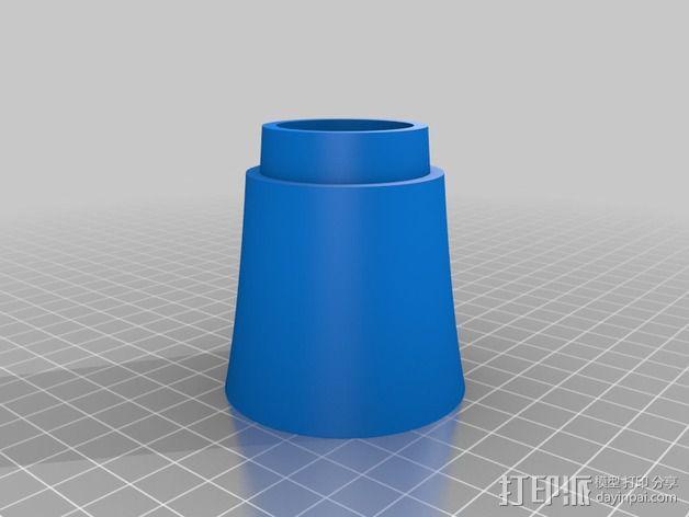 小号 3D模型  图3