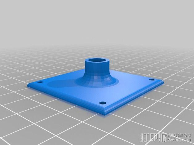 GPS模块支架 3D模型  图3