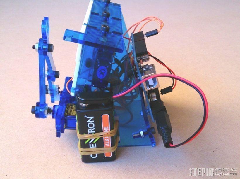Plot Clock 创意时钟支架 3D模型  图5
