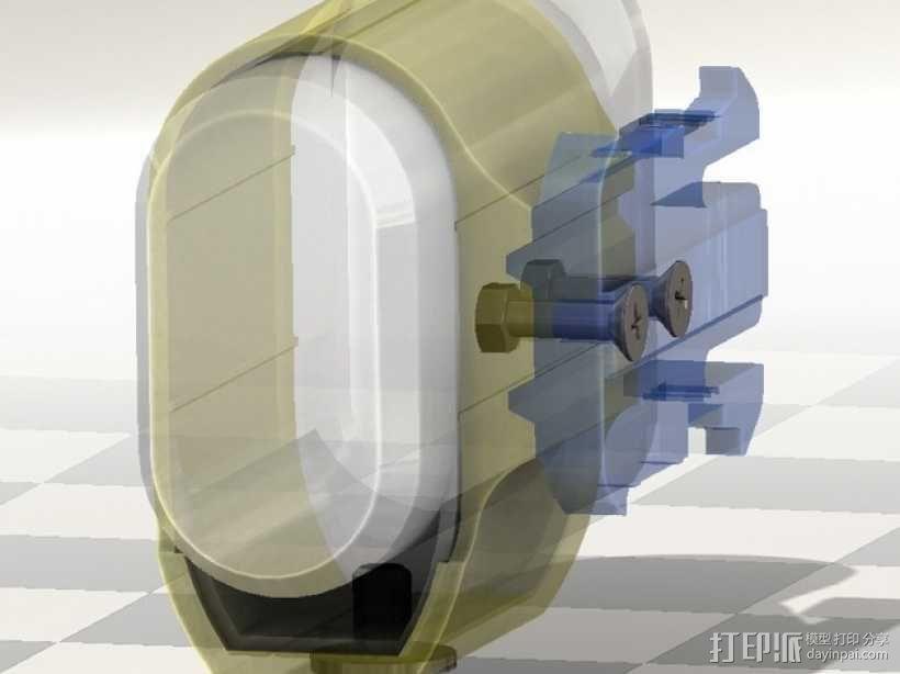 连拍相机零部件 3D模型  图2