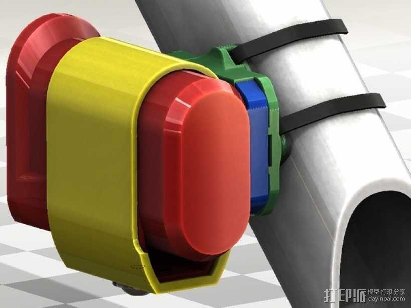 连拍相机零部件 3D模型  图4