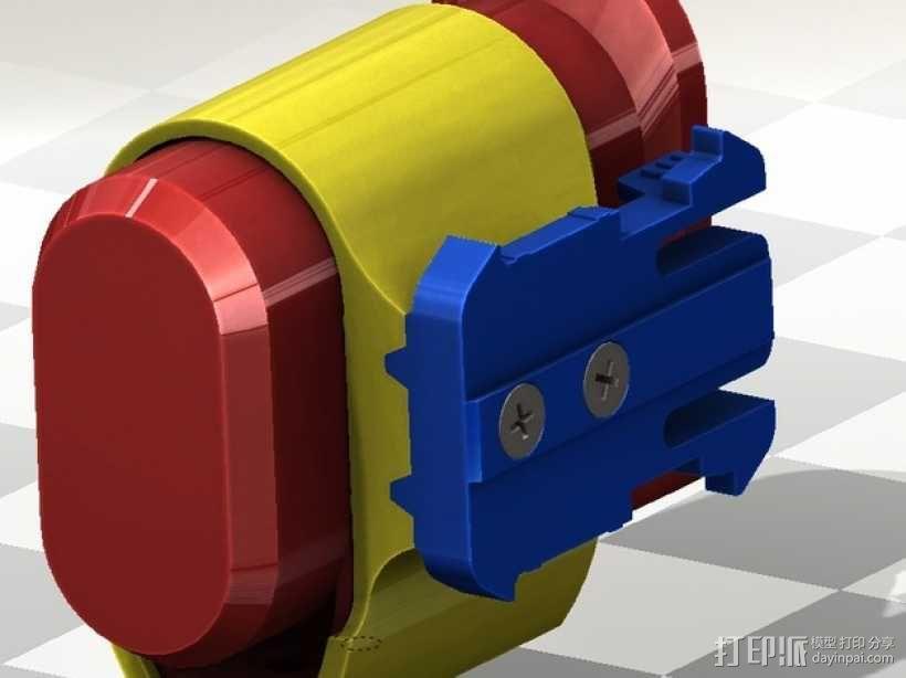 连拍相机零部件 3D模型  图6