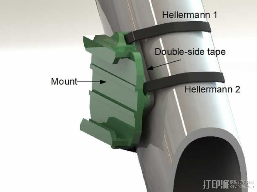 连拍相机零部件 3D模型  图5