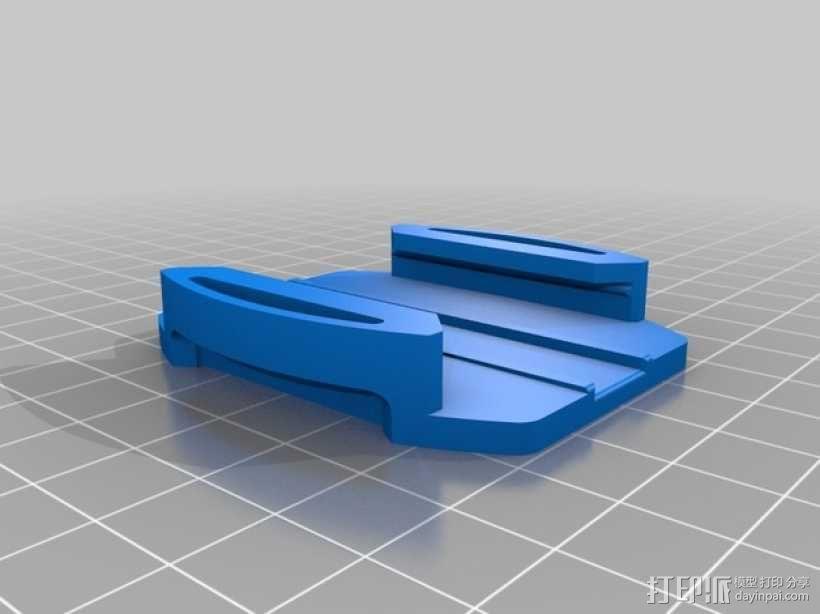 连拍相机零部件 3D模型  图11
