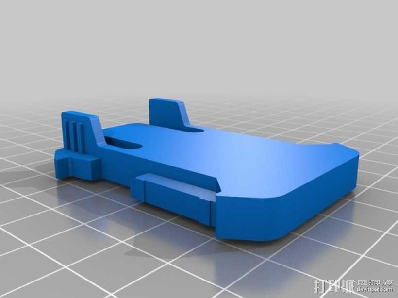 连拍相机零部件 3D模型  图10