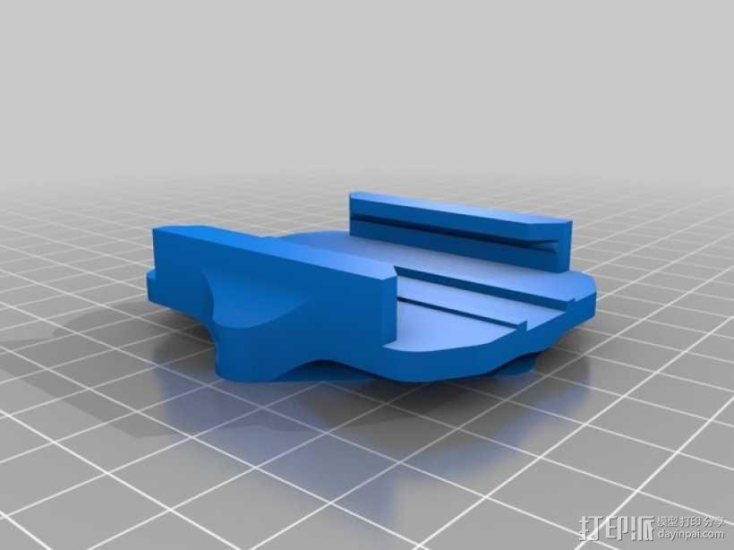 连拍相机零部件 3D模型  图12