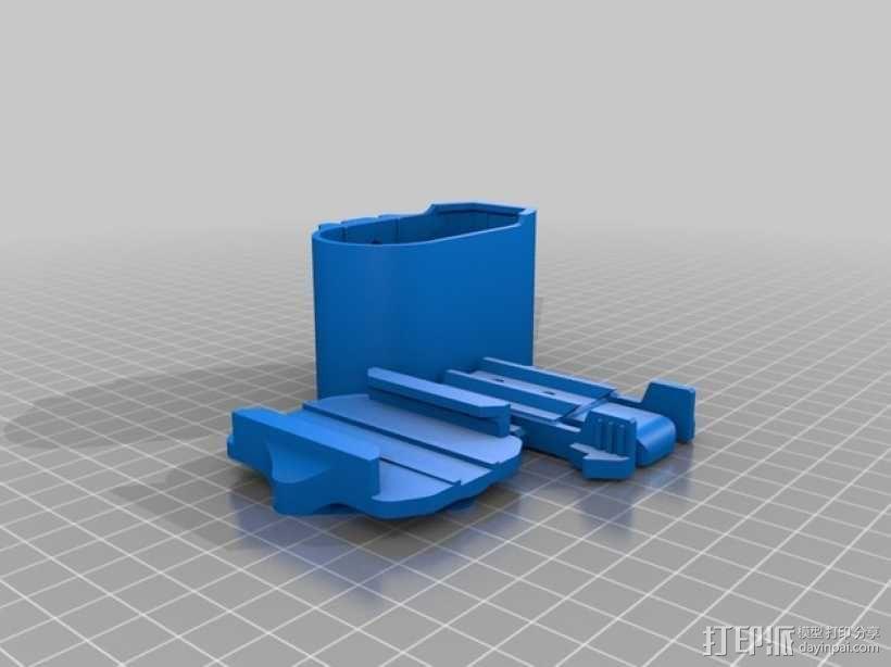 连拍相机零部件 3D模型  图14