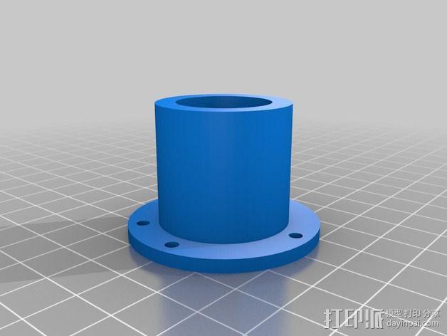 bixler2 发动机架  3D模型  图5