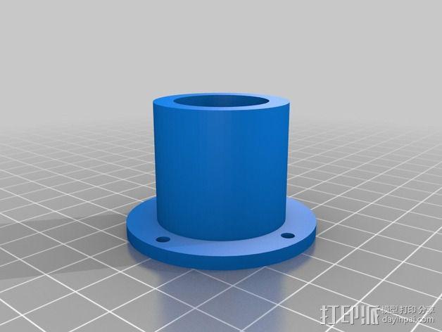 bixler2 发动机架  3D模型  图8