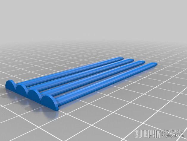 定制化编织针 3D模型  图2