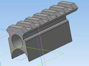 皮卡汀尼导轨 3D模型