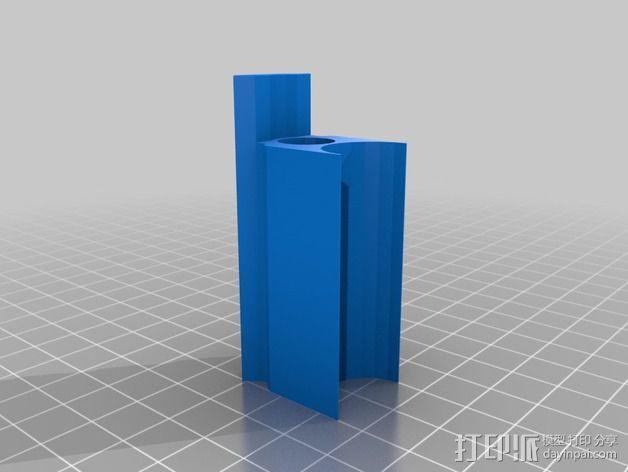 皮卡汀尼导轨 3D模型  图2