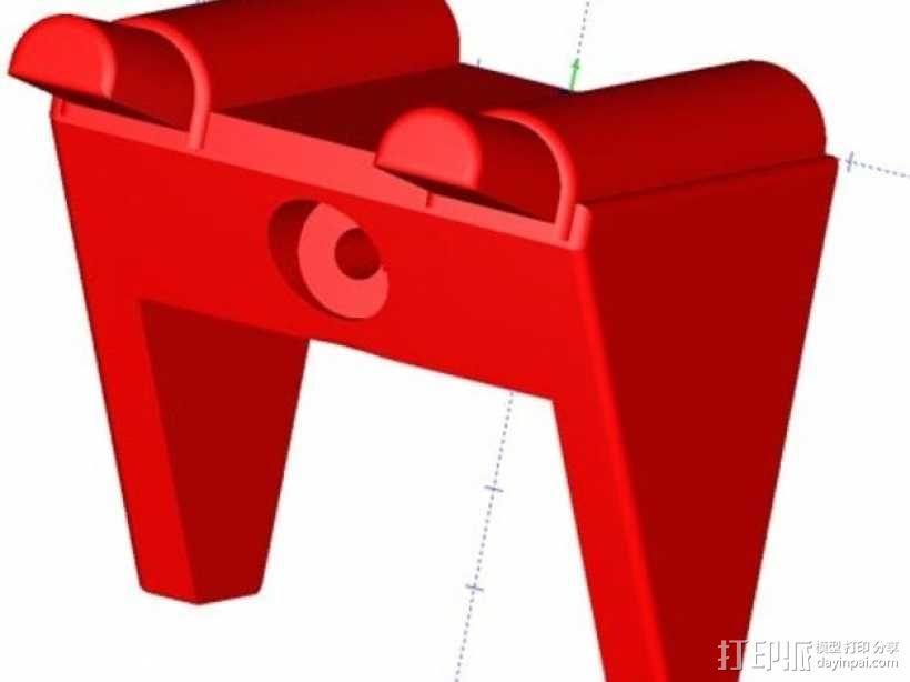 吉他 支架 3D模型  图1