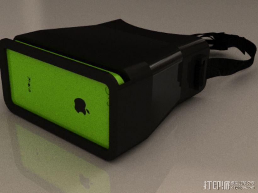 iPhone立体镜 3D模型  图1