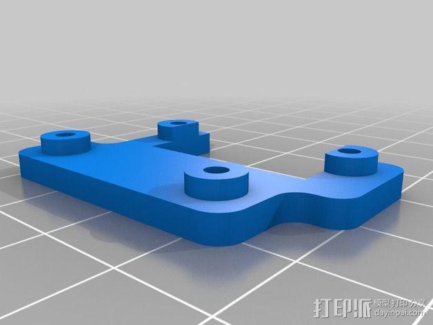 Arduino机器人底盘 3D模型  图3