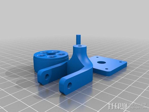 Arduino机器人底盘 3D模型  图4