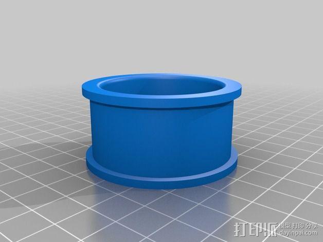 Arduino机器人底盘 3D模型  图5