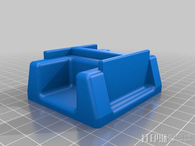 Arduino机器人底盘 3D模型  图7