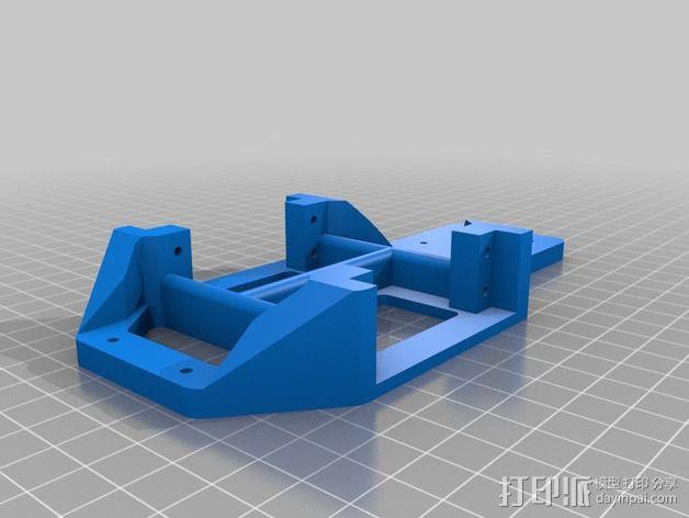 Arduino机器人底盘 3D模型  图8