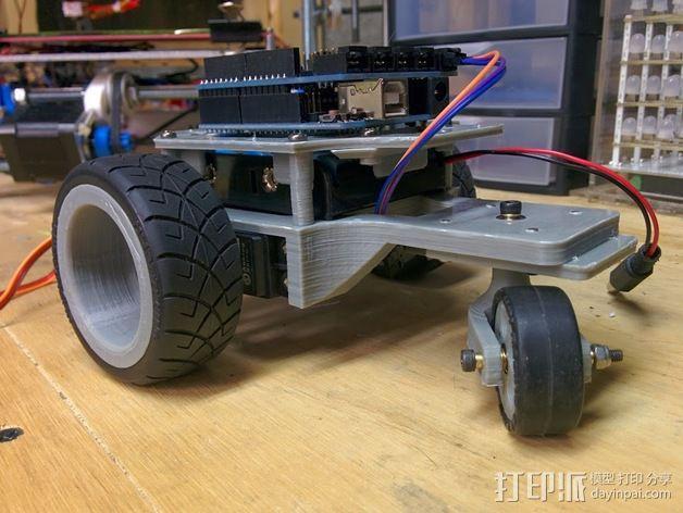Arduino机器人底盘 3D模型  图11