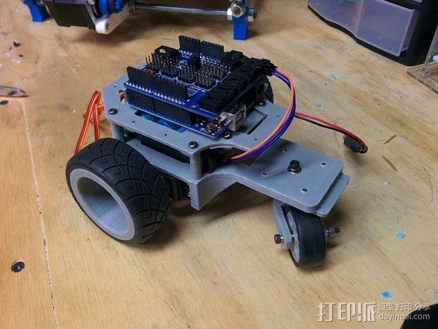 Arduino机器人底盘 3D模型  图12