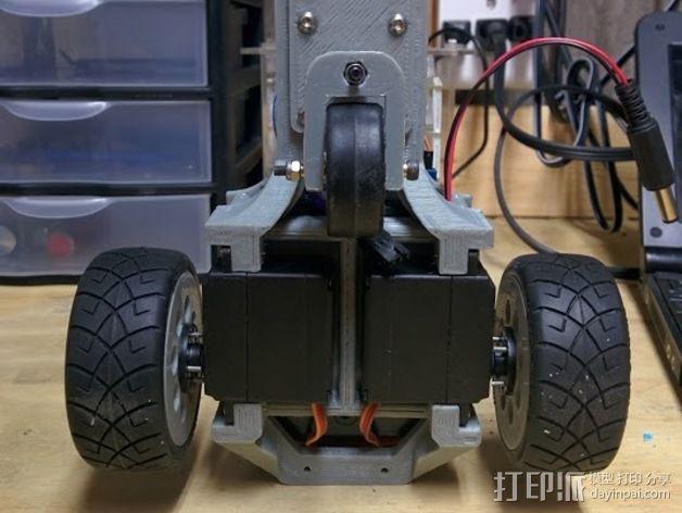 Arduino机器人底盘 3D模型  图15