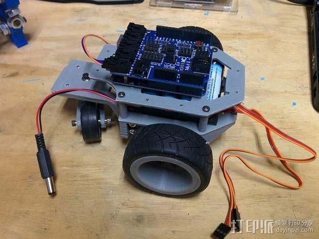Arduino机器人底盘 3D模型  图13