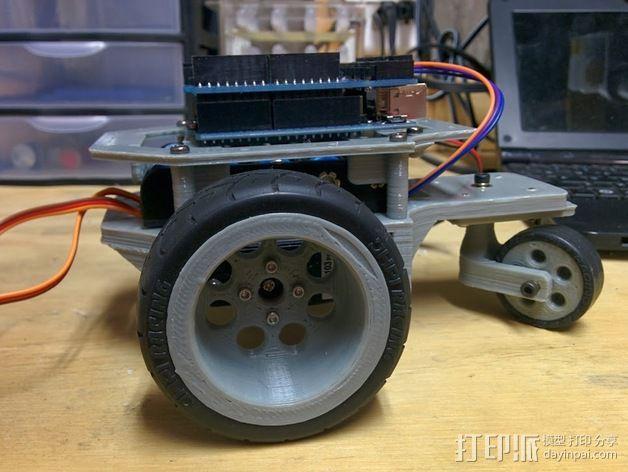 Arduino机器人底盘 3D模型  图17