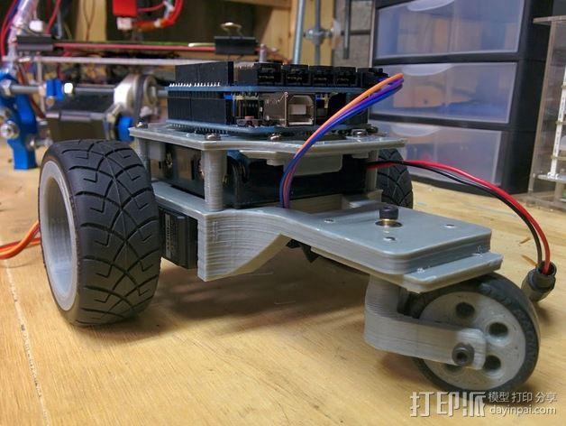 Arduino机器人底盘 3D模型  图18