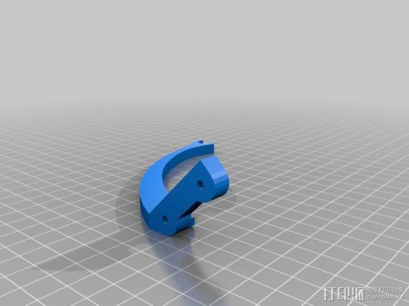 Crossfire起落橇 3D模型  图8