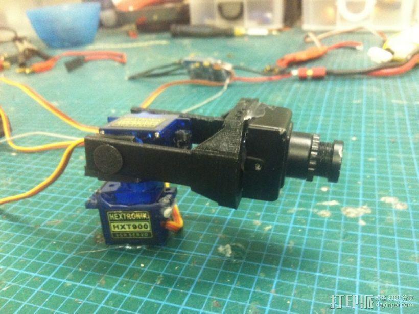 Fatshark相机支架 3D模型  图1