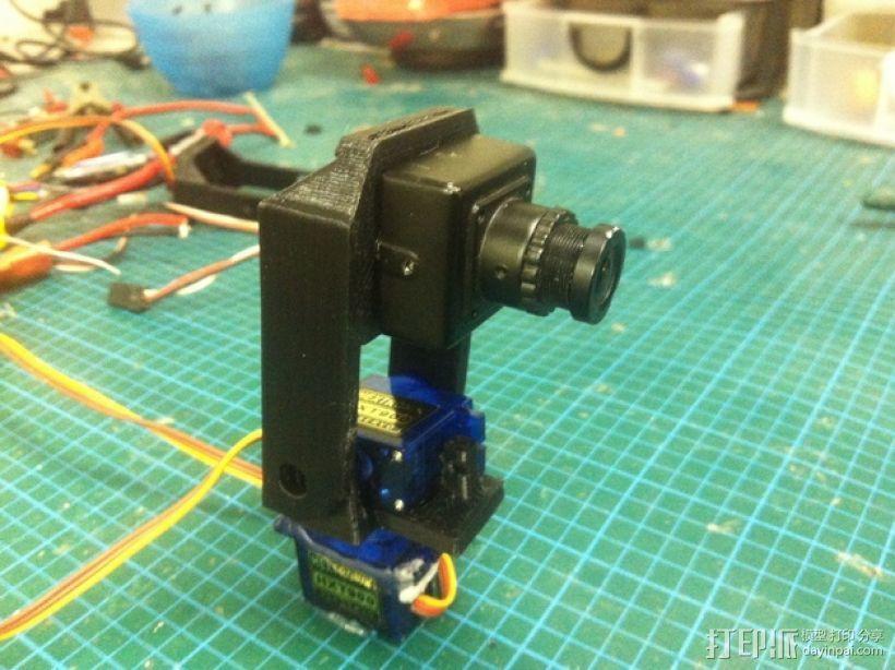 Fatshark相机支架 3D模型  图2