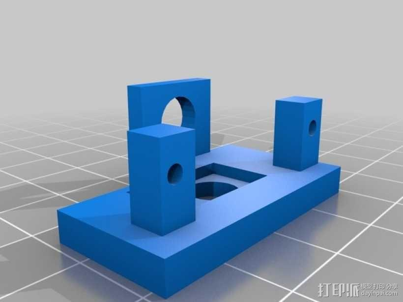 Fatshark相机支架 3D模型  图3