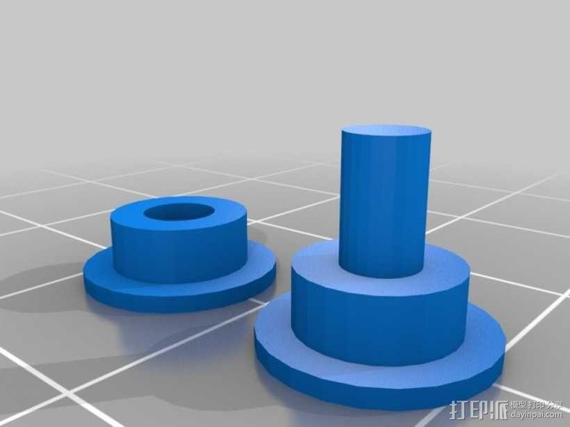 Fatshark相机支架 3D模型  图7
