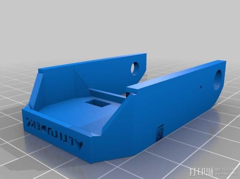 Fatshark相机支架 3D模型  图5