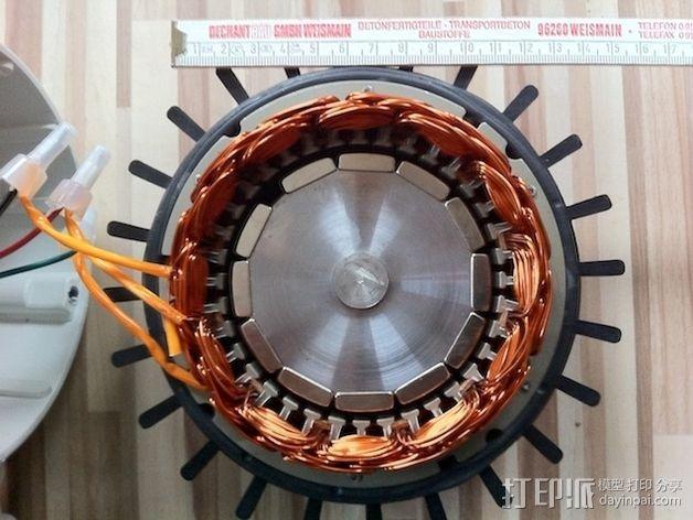 风力涡轮机 3D模型  图3