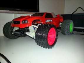 越野卡车轮胎 3D模型