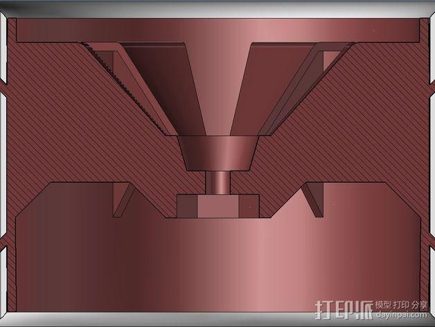 越野卡车轮胎 3D模型  图5