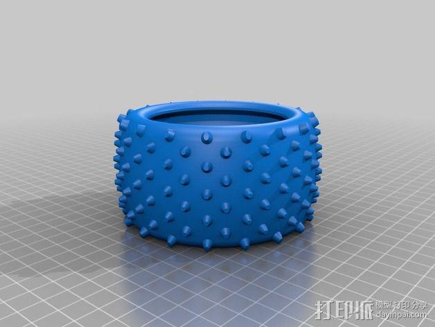 越野卡车轮胎 3D模型  图6