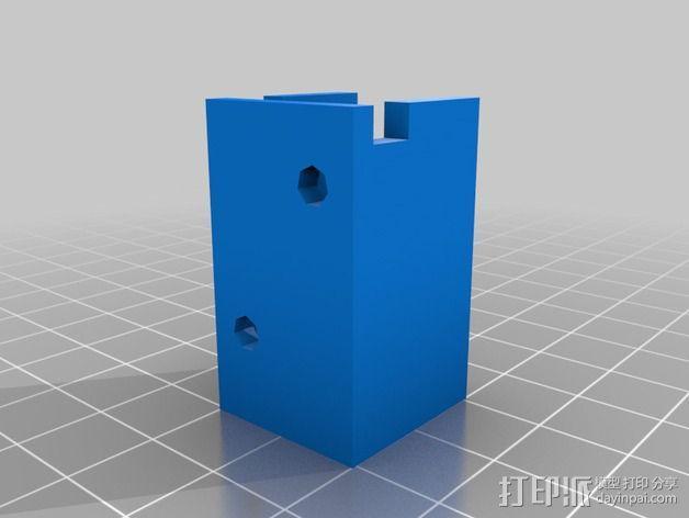 电源板 3D模型  图2