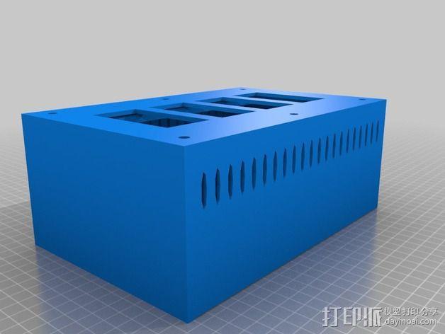 电源板 3D模型  图4