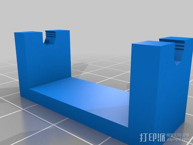 电源板 3D模型  图5