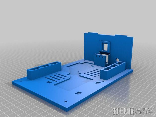 电源板 3D模型  图7