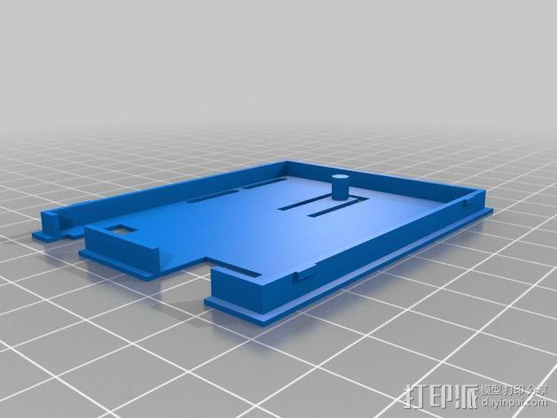 Arduino Uno电路板外壳 3D模型  图2