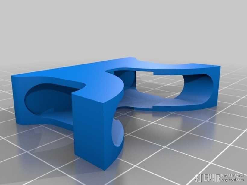 重型扣 3D模型  图3