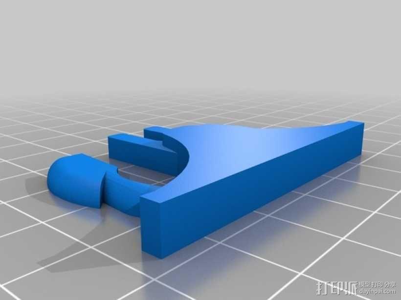 重型扣 3D模型  图2